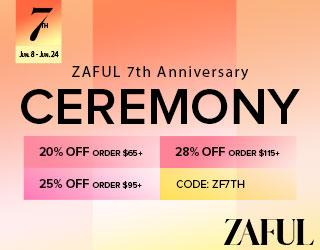 Zaful 7th Anniversary Sales