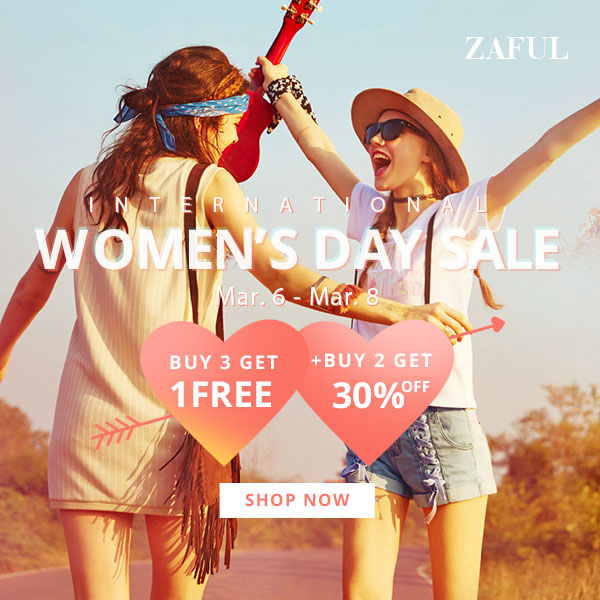 Women's Day Sale: Deals From $1.49