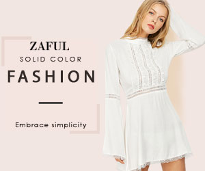 Wanna to be a embrace simplicity lady? Welcome to Zaful and you can enjoy up to 50% OFF to get all kinds of solid color fashion styles. You shouldn't miss it.(5/7/2017)