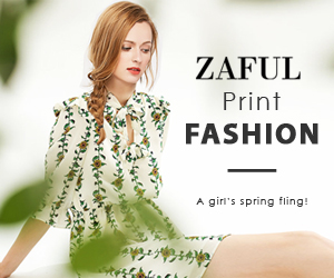 Enjoy Up 70% OFF for Print Fashion at Zaful.com! Ends 4/15