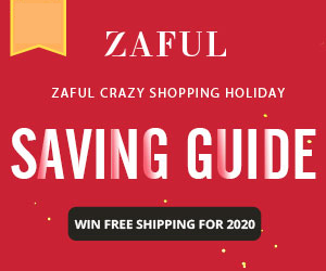 Zaful Crazy Shopping Holiday: Saving Guide