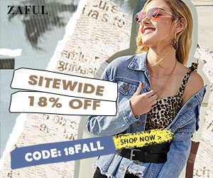Extra 18% off sitewide at ZAFUL (Valid till 2021)