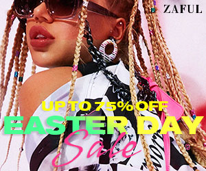 Zaful Easter Day Sale: $49-15%, $89-18%, $129-22% Code: VD2021 Expire: Apr 10th, 2021