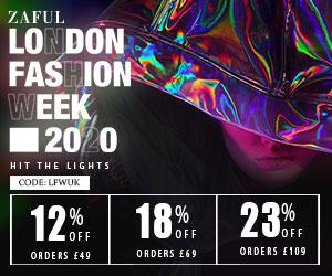 £49-12%, £69-18%, £109-23% with code: LFWUK