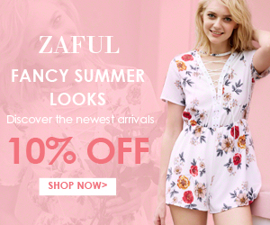 Fancy Summer Looks!  Enjoy Extra 10% OFF for all Selected Items On This Page at Zaful.com!