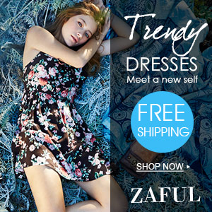 Free Shipping for Trendy Dresses