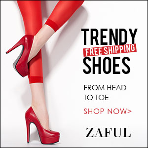 Free Shipping for Trendy Shoes @zaful.com: Stylish from Head to Toe