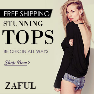 Free Shipping for Stunning Tops @zaful.com: Be Chic all the Ways