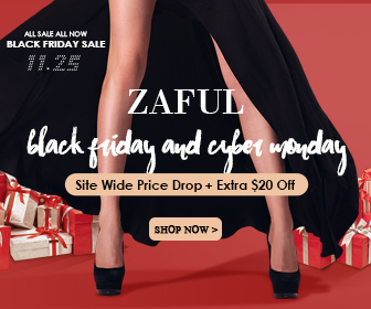 Free Shipping from 11/25/2016 to 11/29/2016, pick your love from zaful.com!