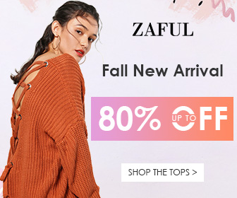 Fall New Arrivals! Enjoy Up to 80% OFF for Fall New clothes Sale at Zaful. Ends 9/5/2017.