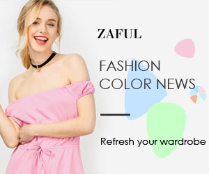 Fashion Color News Start From $12.99 at Zaful.com! End, Mar.5,2017