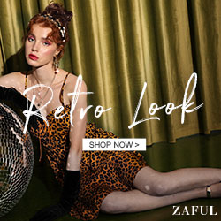 Zaful Retro Inspired Look Special Sale