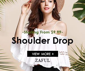 Start from $9.99 for Shoulder Drop at Zaful.com!