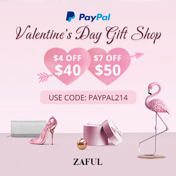 Valentine's Day Gift Shop with PayPal