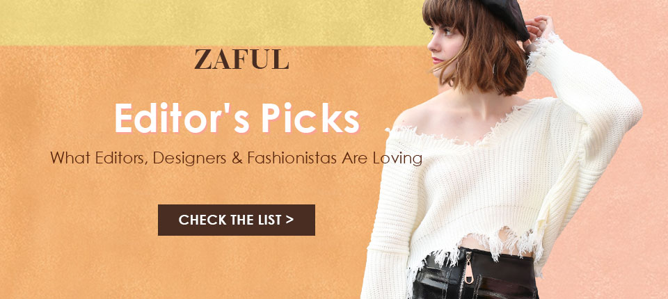 Shop 2017 Top 8 Sweaters at Zaful.com! Ends: 10/10/2017