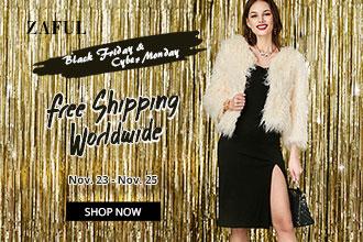 Black Friday Sale: Free Shipping Worldwide