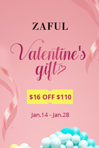 Zaful 2019 Valentine's Day Sale - Jan 14-Jan 28
