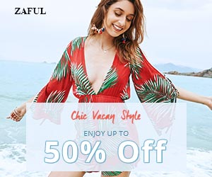 "Enjoy Extra $10 OFF with Code ""BIGSALE2"" on orders over $80+ for Chic Vacay Style Sale at Zaful.com. Ends: 7/23/2017"
