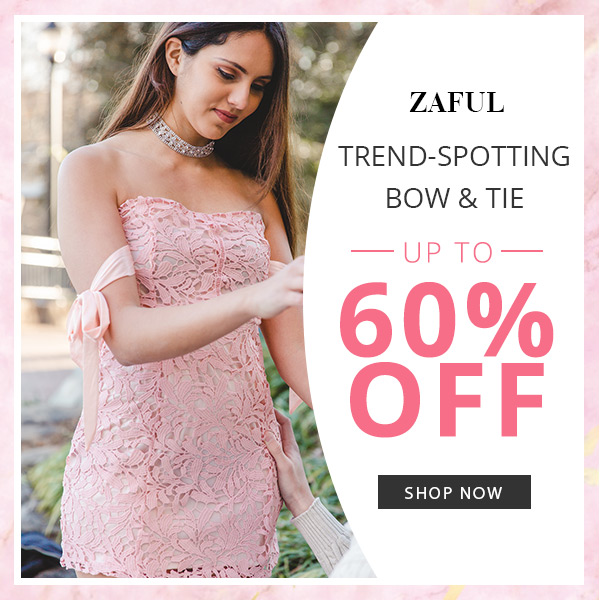 Trend-Spotting: Up to 60% OFF for Bow & Tie