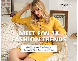 Meet F/W 18 FASHION TRENDS at ZAFUL.com!