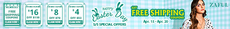 Happy Easter Day Special Offers; Freeshipping Coupons; Sitewide Coupons: $16 off $110; $8 off $70; $4 off $53 April 15-April 19