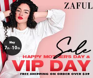 zaful.com - ZAFUL 2021 Mother's Day & VIP Day Sale