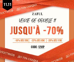 zaful.com - Zaful FR: VIP Day