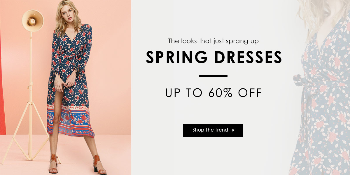 Dresses Sale: Enjoy $2 OFF $20, $4 OFF $40 and $6 OFF $60 for all Dresses With Code
