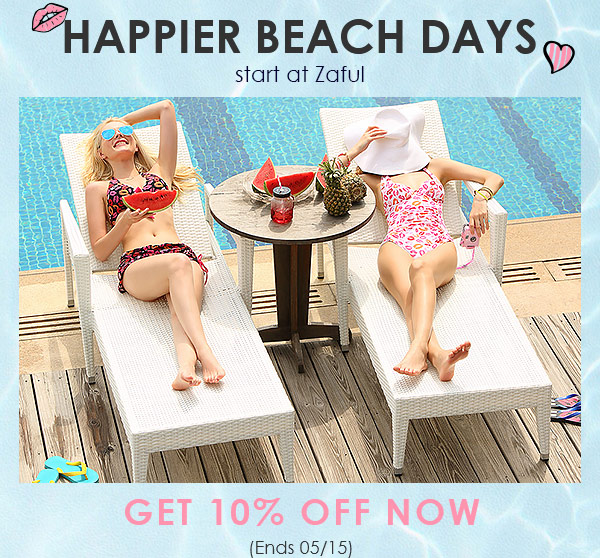 Happy Beach Days! Enjoy Extra 10% OFF With Code