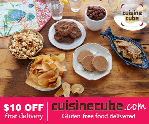 $10 Off First Gluten Free Food Delivery. CuisineCube