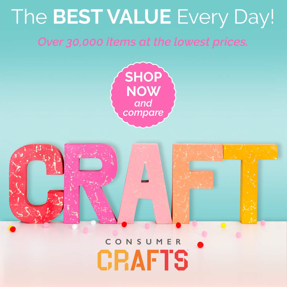 Crafting Deals Perfect For Anyone Who Loves To Be Creative