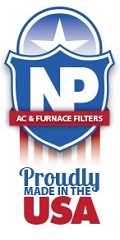 Nordic Pure AC Furnace Filters are proudly made in the USA