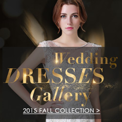 2015 Fall Collection Wedding Dresses