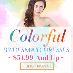 Colorful Bridesmaid Dreses