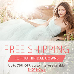 Free Shipping for Hot bridal gowns