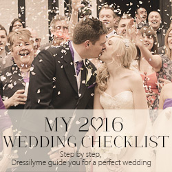 2016 Wedding Checklist