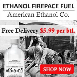 Ethanol Fireplace Fuel $5.99 - Free Delivery
