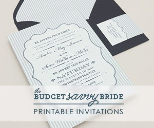 The Budget Savvy Bride Collection - Amber Design
