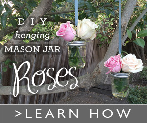 DIY Hanging Mason Jar Vases for Wedding Decor
