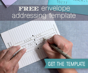 Free Envelope Adressing Template