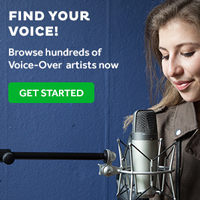 Voice-over services, from as little as 5$