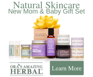 Ora's Amazing Herbal, All natural skincare makes a perfect gift