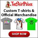 Custom T-Shirts and Official Merchandise from Tee Shirt Palace