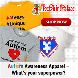 Shop for Autism Awareness Apparel at TeeShirtPalace.com!