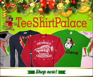 Holiday Banners For TeeShirtPalace.com