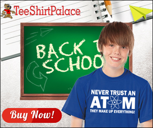 Stock up on back to school Tees at TeeShirtPalace.com!