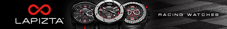 Lapizta Racing Watches
