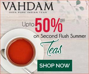 Vahdam Teas Promo Code