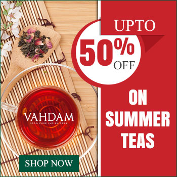 Upto 50% off on Summer Teas