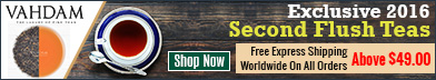 Second Flush Teas